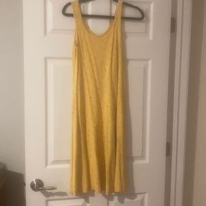 *Vintage* Yellow Floral Dress